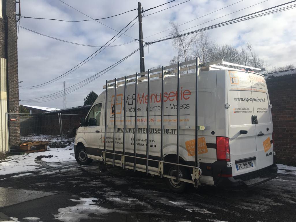 Nouveau véhicule chez VLP Menuiserie