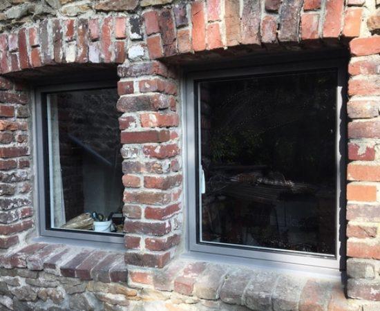 Fenêtres ALU Gris anthracite